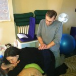 Learning acupressure for labor