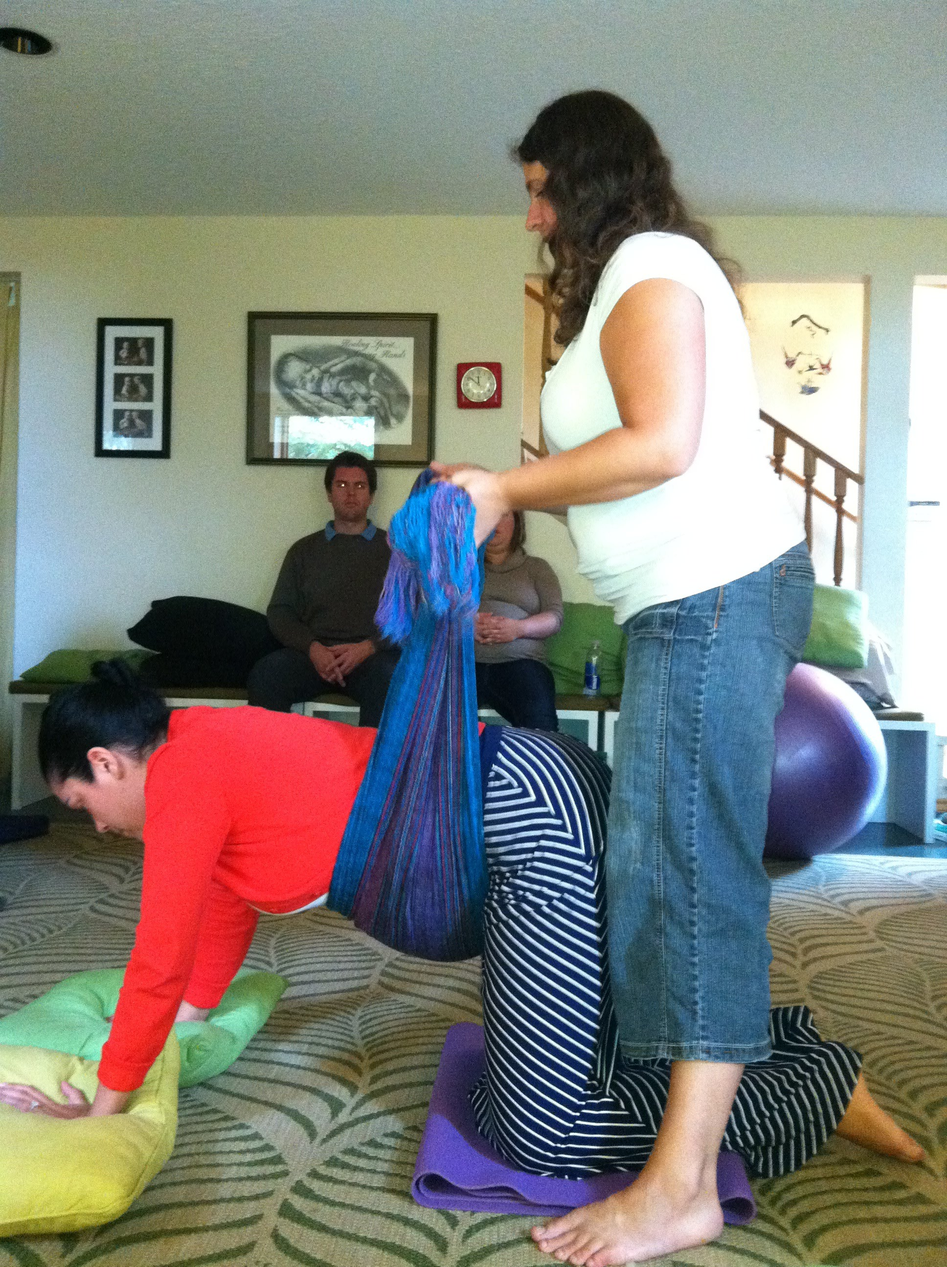 Rebozo Support In Labor Mother Tree Doula Services